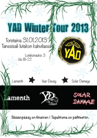 YAD Winter Tour