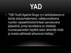 yad slide 1