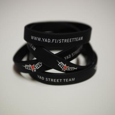YAD Street Team silikoniranneke